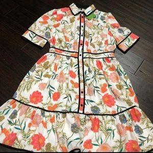 KATE SPADE FLOWERED DRESS